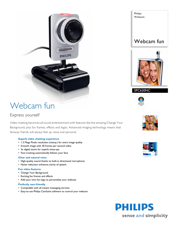 Philips Webcam Brochure
