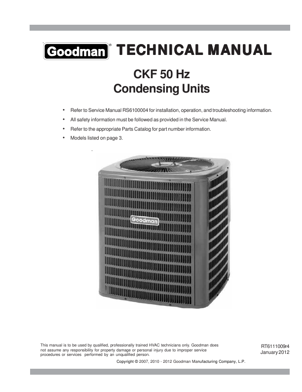 search goodman co lp user manuals manualsonline com rh portablemedia manualsonline com goodman air conditioning manual goodman ductless air conditioner manual