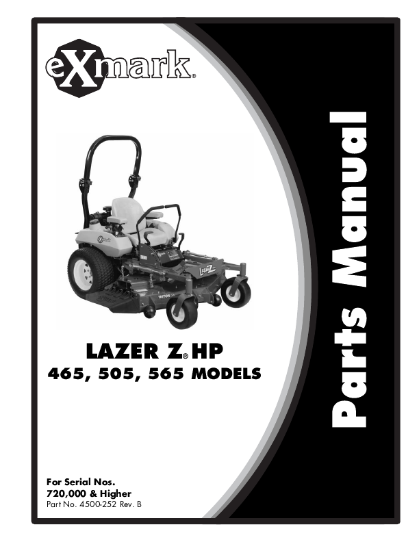 search yard machines user manuals manualsonline com rh manualsonline com 2004 Exmark Lazer Z Manual Exmark Lazer Z Troubleshooting Manual