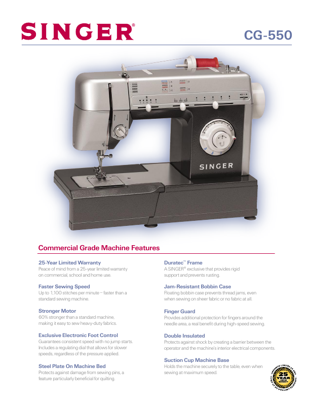 commercial grade sewing machine