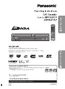 Panasonic Operating Instruction DVD Recorder DMR-EZ47V, DMR-EZ475V
