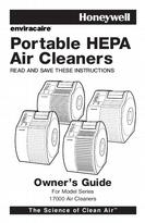 Honeywell Portable HEPA Air Cleaners Owner's Guide 17000