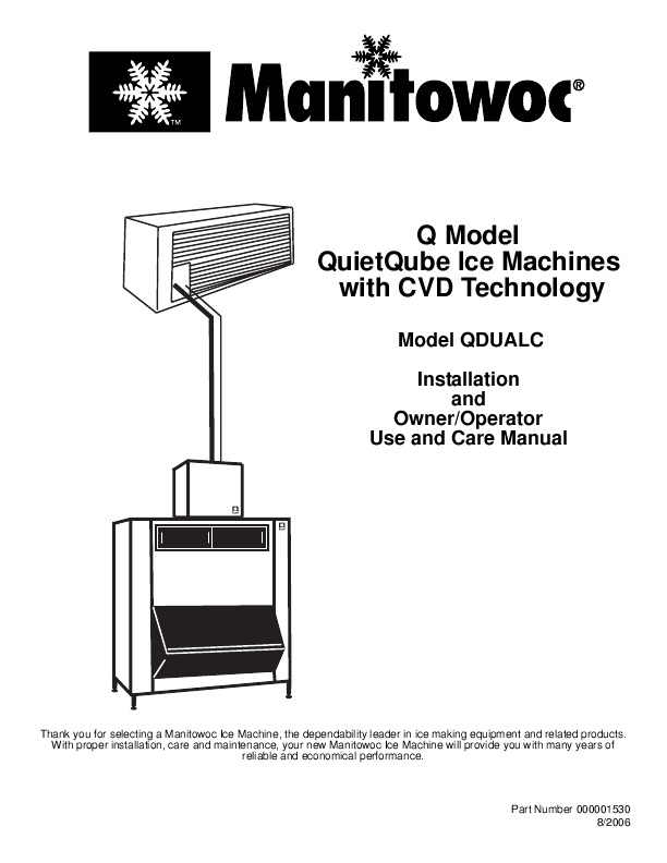 manitowoc machine models