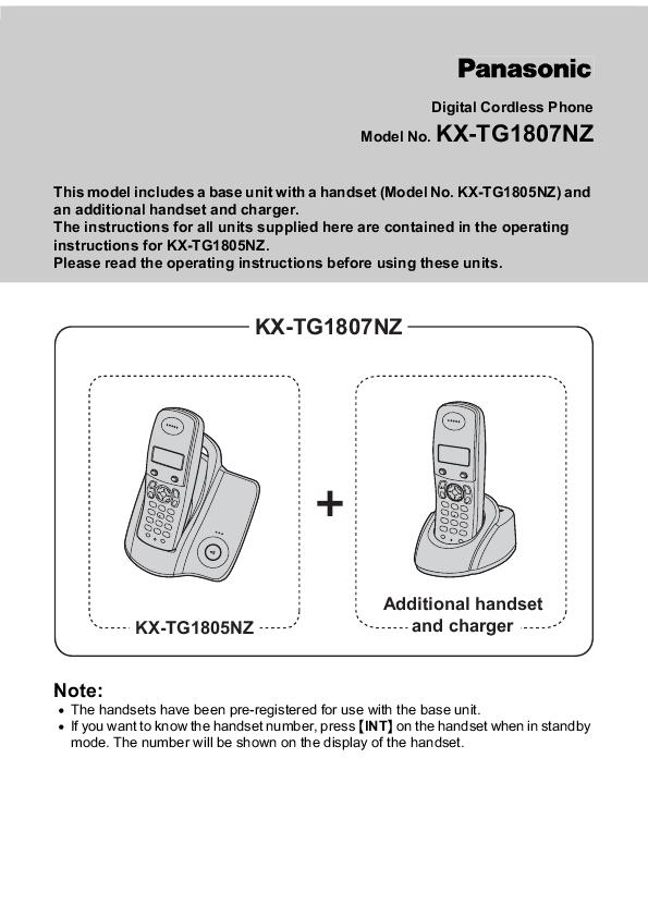 panasonic digital cordless phone operating instructions panasonic digital phone manual kx-tge445 panasonic digital telephone manual
