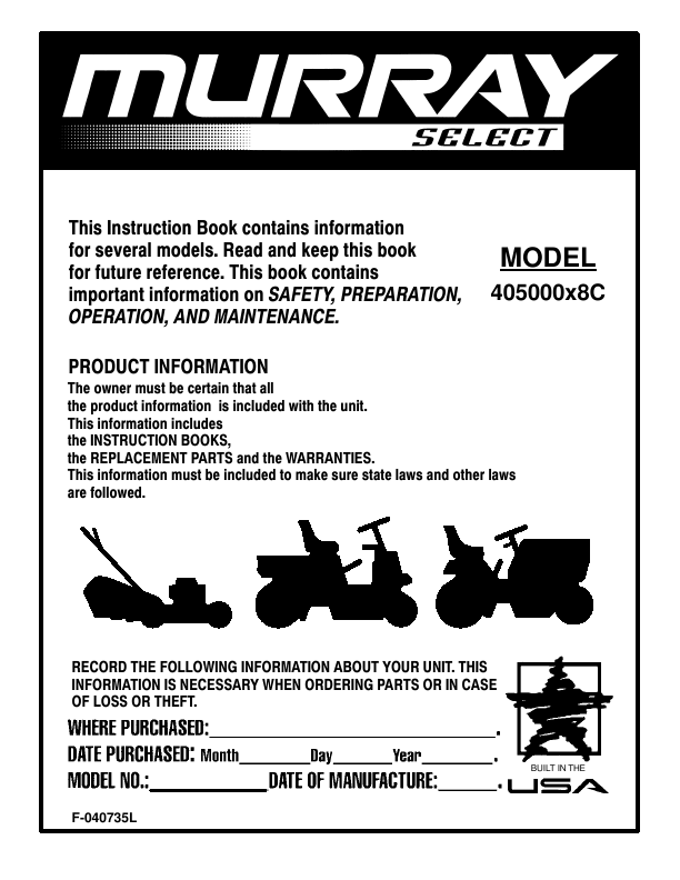 Lawn Mower Repair Scotts Briggs and Stratton 6.0 Self Propelled