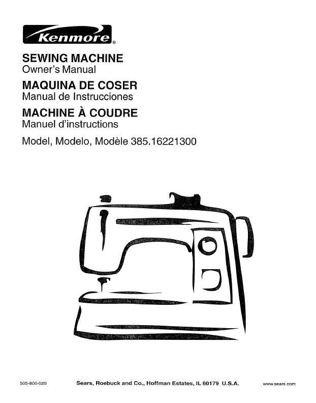 How to Use the tension knob on a Kenmore sewing machine « Sewing