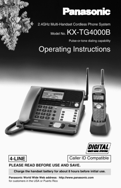 panasonic phone systems instructions