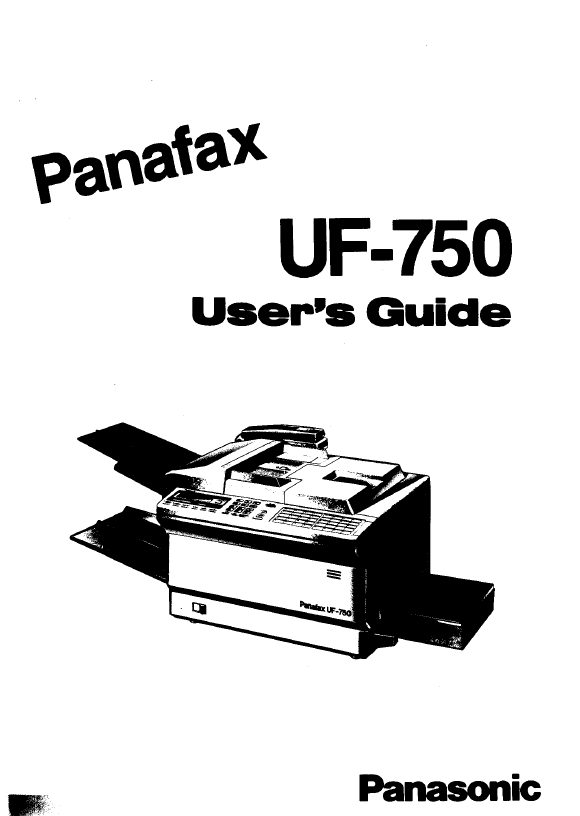 Contents contributed and discussions participated by amanda wilson panasonic panafax fax operating manual fandeluxe Images
