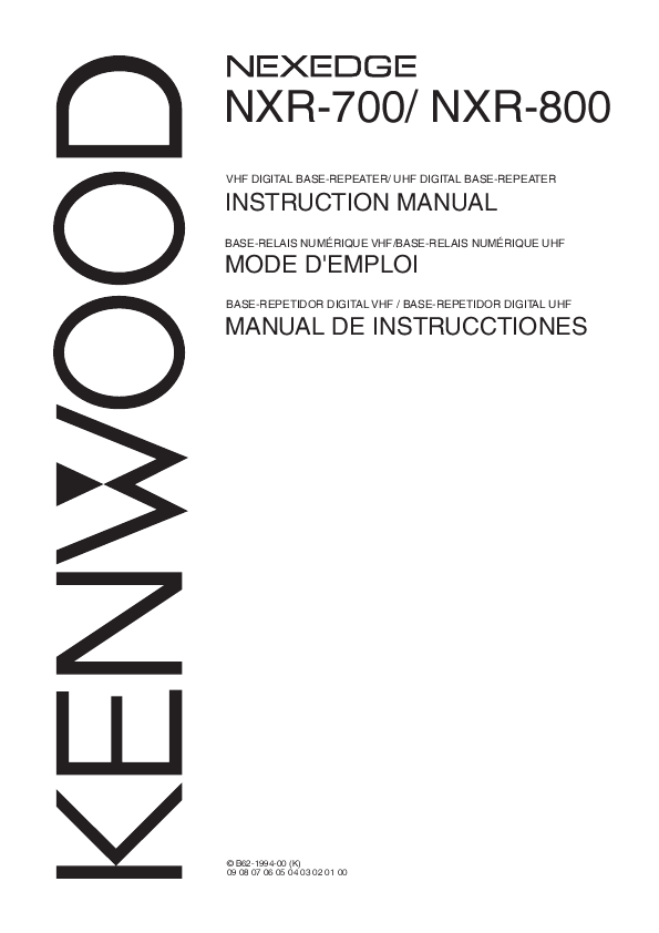 kenwood two way radio manual