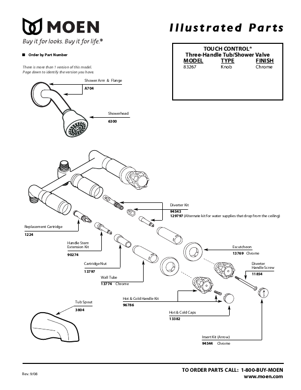 moen plumbing product 83267 user 39 s guide