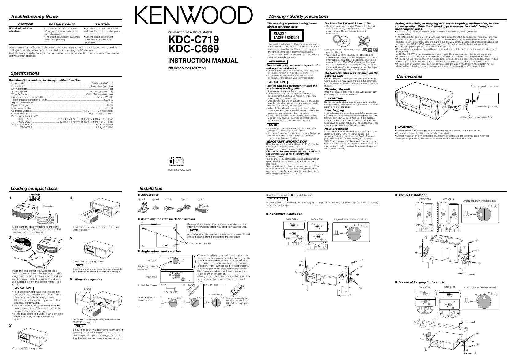 Manual Download | Kenwood