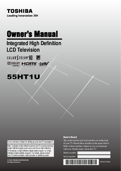 search toshiba toshiba lcd hdtv user manuals manualsonline com rh tv manualsonline com RCA User Manual RCA User Manual