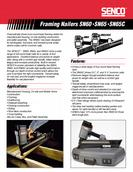 Senco Framing Nailer Specification Sheet