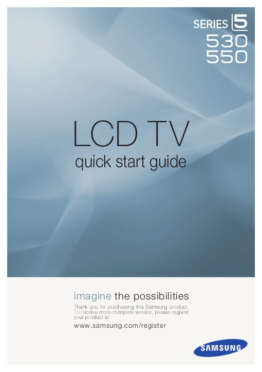 User Manual for Samsung TV