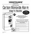 Nighthawk User's Guide Carbon Monoxide Alarm KN-COPP-3 810-1368