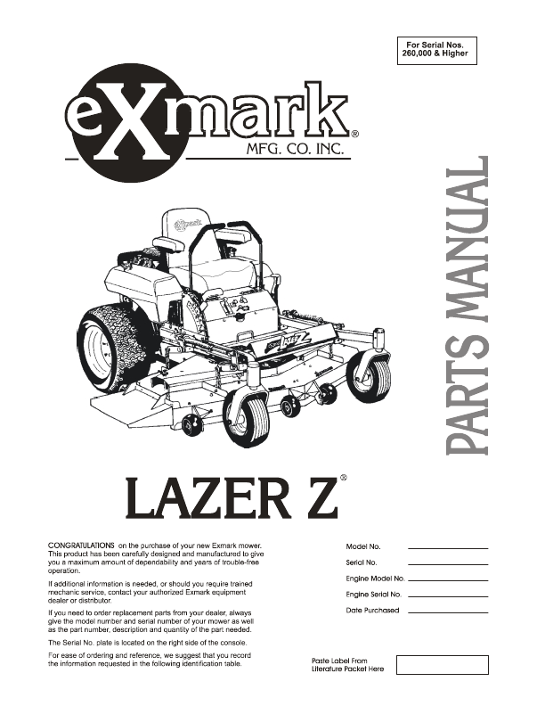30e41341 be11 32d4 f17a a24676ab3d37 000001 search manual user manuals manualsonline com Exmark Lazer Z Manual at suagrazia.org