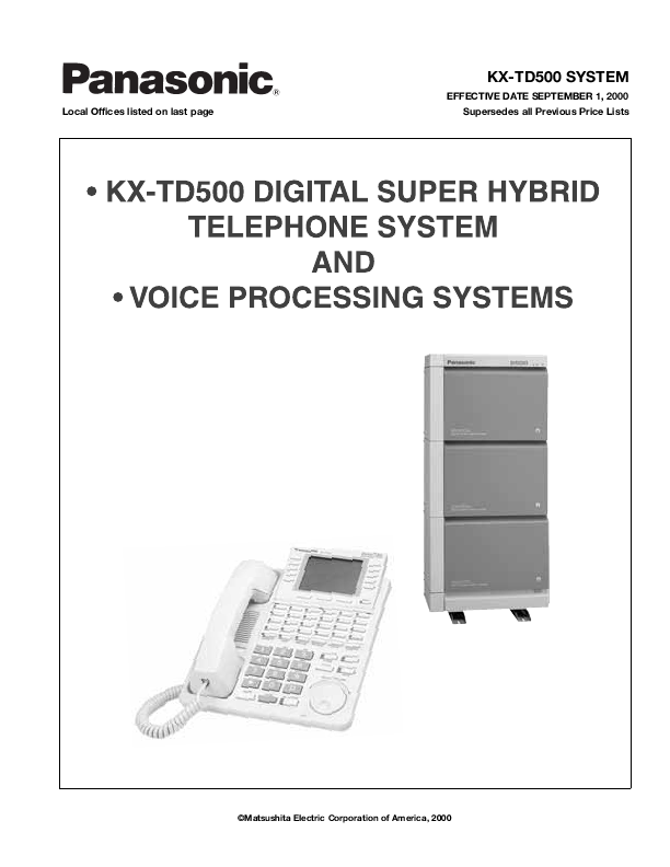 panasonic digital super hybrid system kx t7431 manual