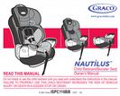 Graco Child Restraint/Booster Seat Owner's Manual
