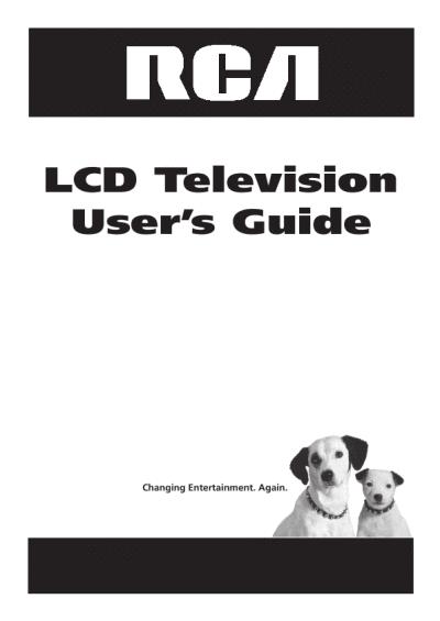 RCA 25415 User Manual