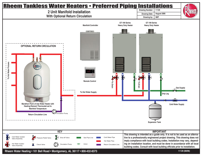 rheem water heater tankless water heater user s guide manualsonline