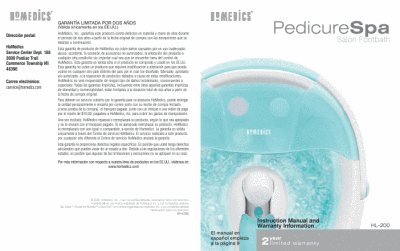 search homedics aroma spa 000061011 user manuals manualsonline com rh homeappliance manualsonline com