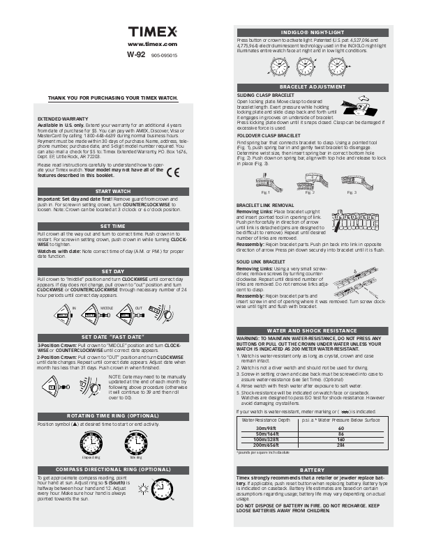 search timex timex watch user manuals manualsonline com rh manualsonline com Clip Art User Guide User Guide Template