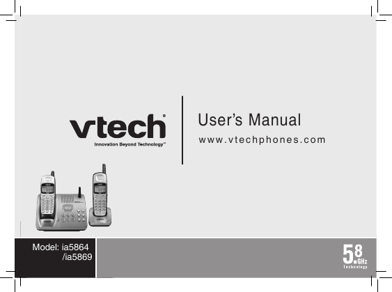 Manual For Vtech Phone 5 8 Manual Guide
