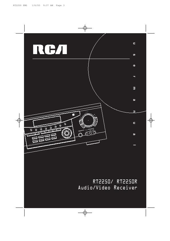 Rca surround sound hook up