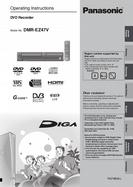 Panasonic DVD Recorder Operating Instructions