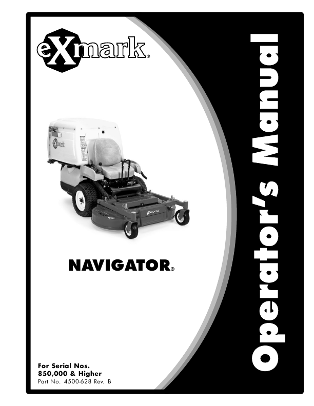 search lawn mower user manuals manualsonline com rh tv manualsonline com exmark navigator manuals parts and diagram exmark navigator manuel