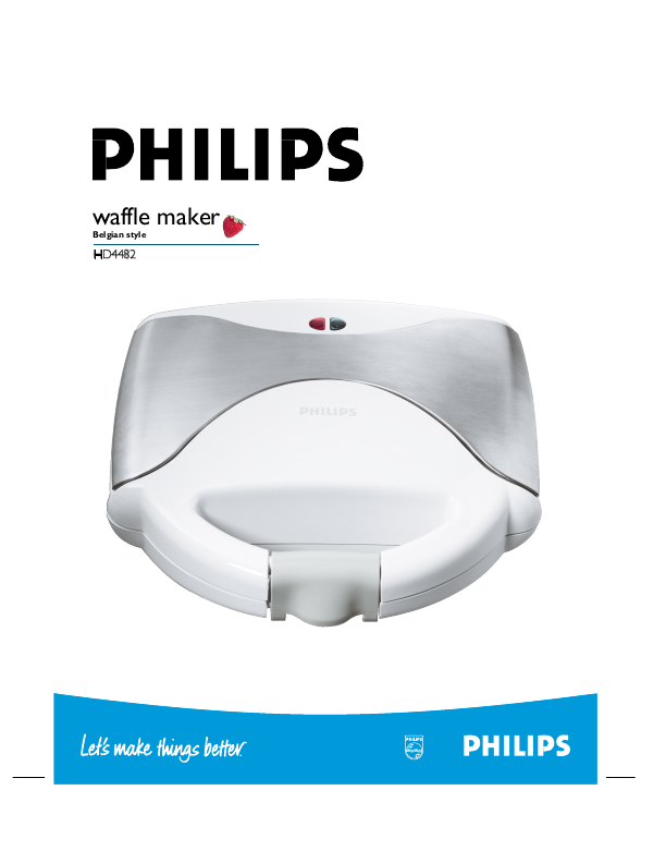philips instant care iron instructions