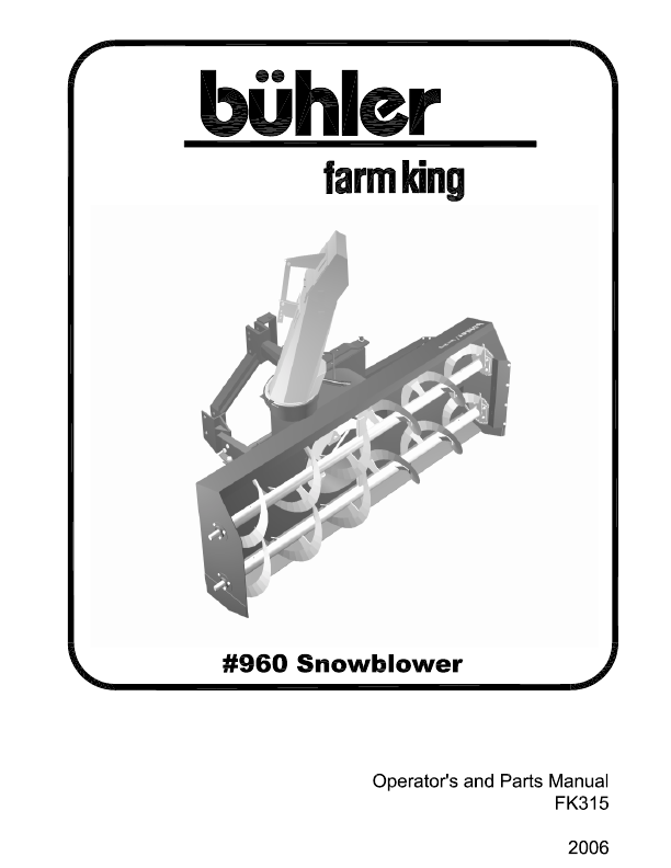 snow king snowblower parts manual