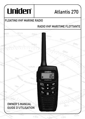 search uniden uniden answering machine user manuals manualsonline com rh manualsonline com uniden marine radio um380 manual uniden solara dsc marine radio manual
