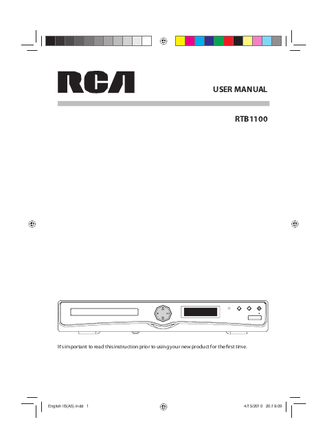 search rca home theater system user manuals manualsonline com rh audio manualsonline com User Guide Template User Webcast