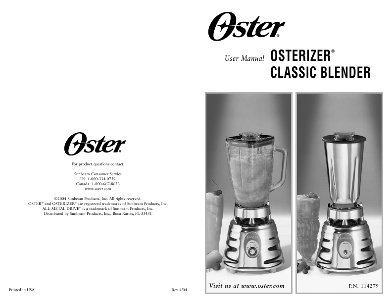 oster blender owners manual today manual guide trends sample u2022 rh brookejasmine co 1987 Oster Kitchen Mixer Replacement Parts Osterizer Blender Parts