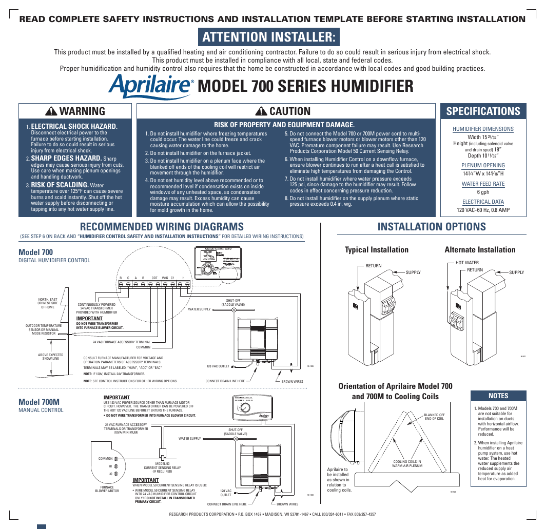 Perfect Aprilaire 550 Wiring Diagram Embellishment - Simple Wiring ...