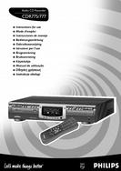 Philips Audio CD Recorder Instruction for Use