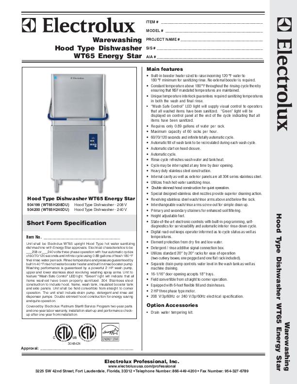 electrolux energy saver electrolux ews125410a. Black Bedroom Furniture Sets. Home Design Ideas
