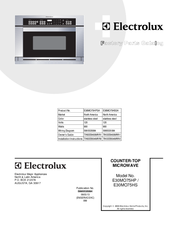 Search electrolux fgf316dsd html?ct=support User Manuals ... on