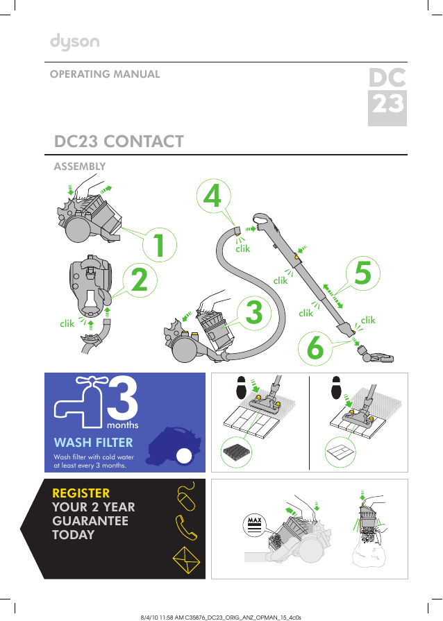 search upright user manuals manualsonline com rh manualsonline com dyson dc33 owners manual dyson dc33 user manual