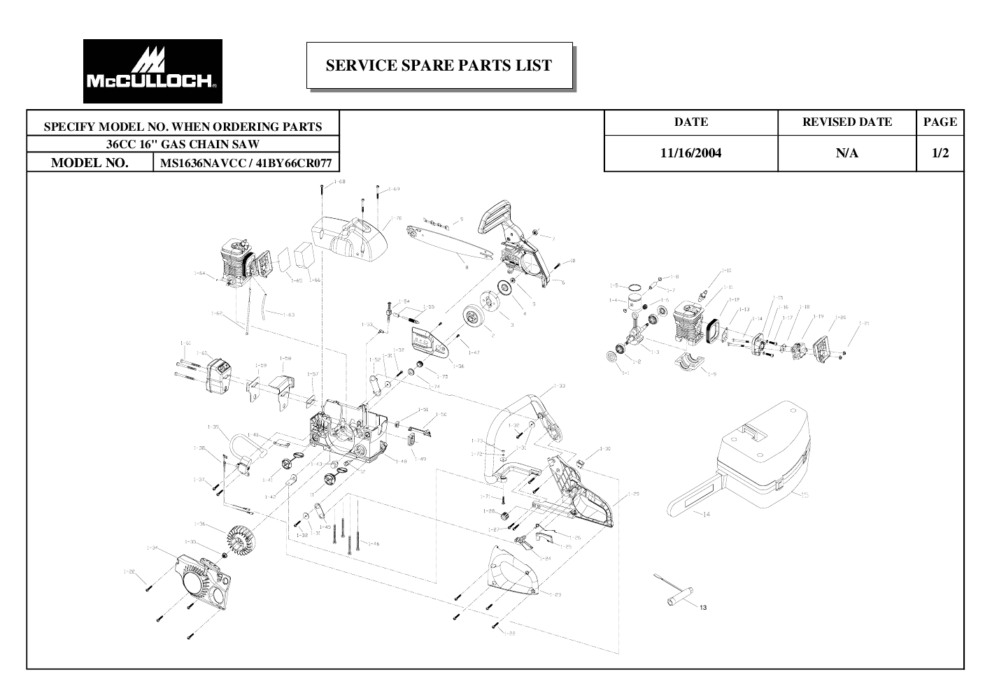Mcculloch Mac 140 Manual Pdf Wiring Diagrams on Subaru Forester Repair Manual