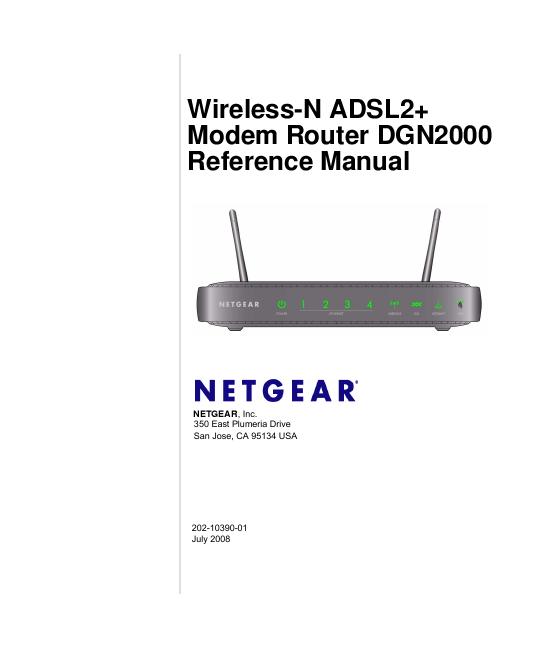 netgear n300 wireless router wnr2000 manual