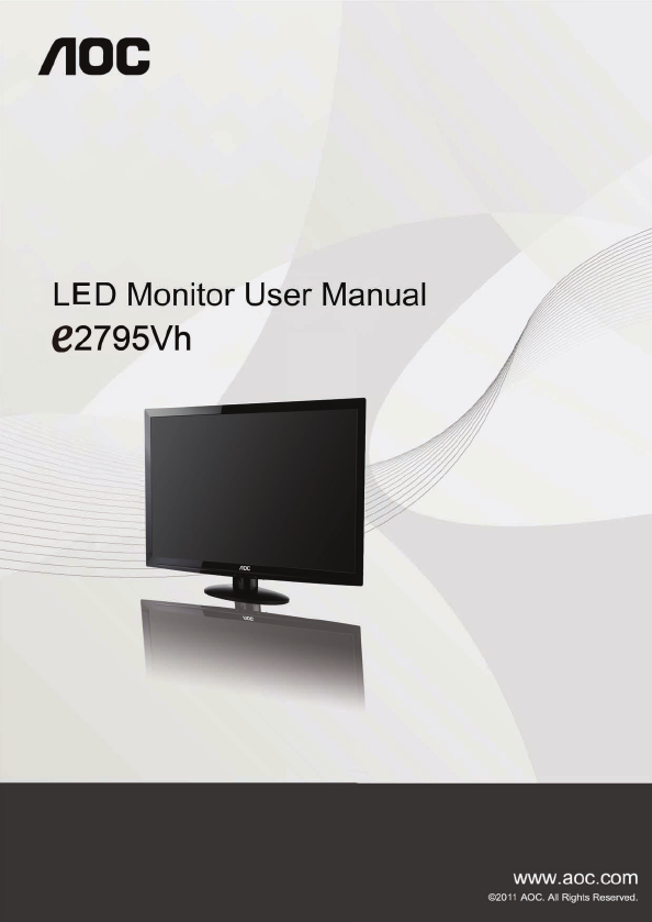 search aoc aoc lcd hdtv user manuals manualsonline com rh tv manualsonline com User Manual Template Owner's Manual