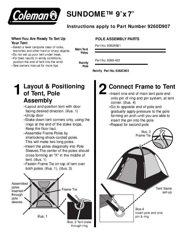 Search Tent User Manuals Manualsonline