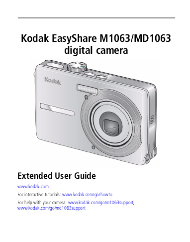 kodak digital camera user manual manualsonline com Kodak EasyShare C613 Kodak EasyShare Cameras