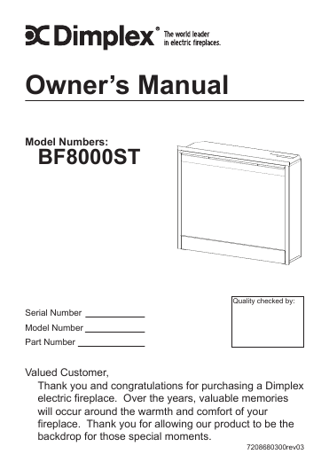 watch more like dimplex manualsonline my blog · dimplex ss5800pb owner s manual