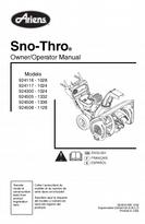 Ariens Snow Blower User Manual