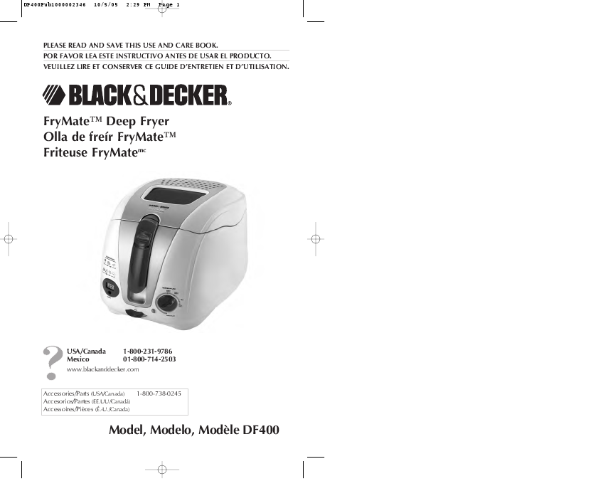 Search gas electric fryer deep fryer User Manuals | ManualsOnline.com