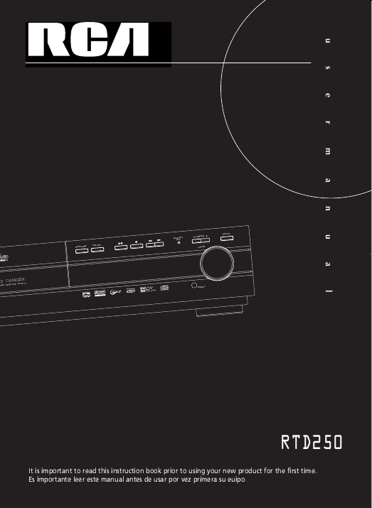rca home theater receiver manual