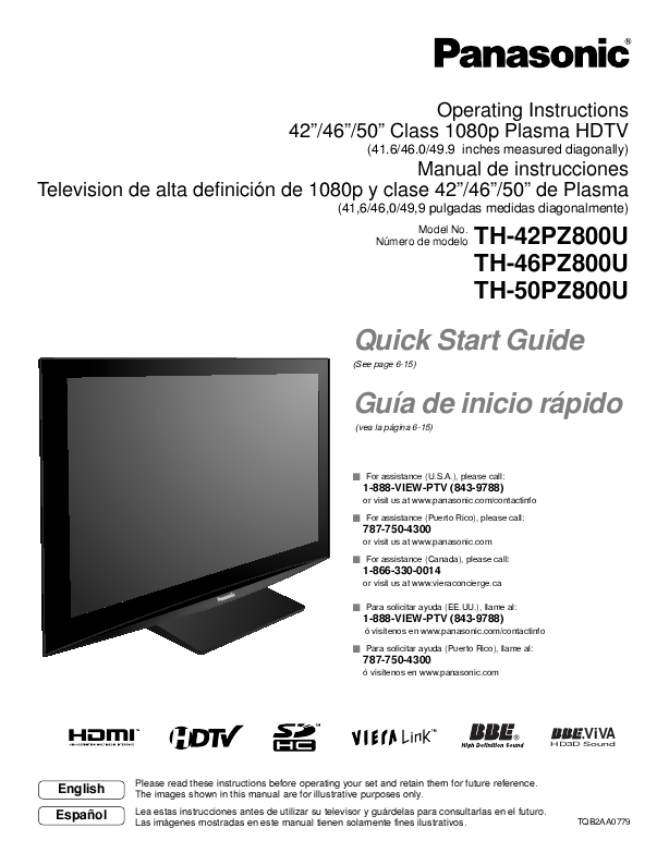 search panasonic panasonic plasma hdtv user manuals manualsonline com rh tv manualsonline com 1080P LCD HDTV Samsung HDTV 1080P Manual